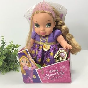 Disney Princess Baby Rapunzel With play Rattle